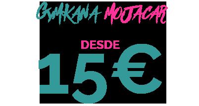 15€ GYMKANA MOJACAR