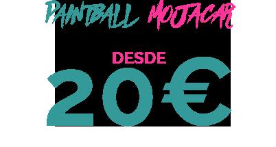 20€ PAINTBALL MOJACAR