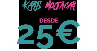 25€ KARTS MOJACAR
