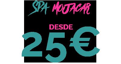 25€ SPA MOJACAR