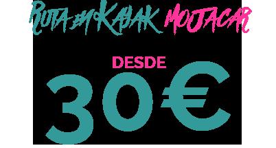 30€ RUTA EN KAYAK MOJACAR