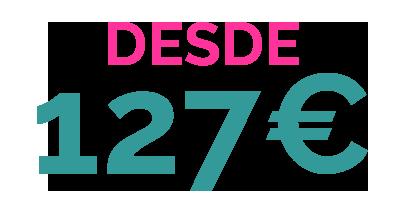 DESDE 127€ PACK 6 ALOJAMIENTO