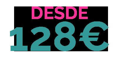 DESDE 128€ PACK 10 ALOJAMIENTO