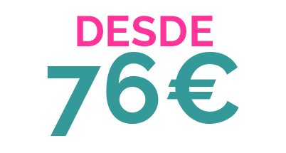 DESDE 76€ PACK 4 POOL PARTY